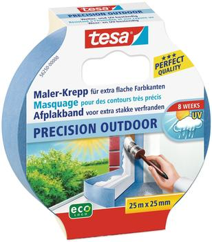 Tesa Precision Outdoor 25m x 25mm blau