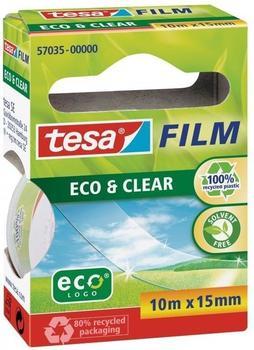 Tesa tesafilm eco & clear 10m x 15mm, 1 Stk.