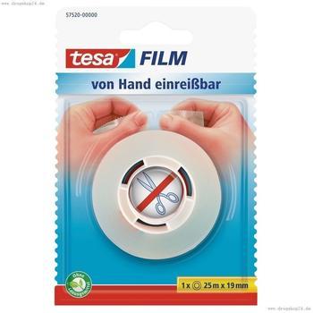 tesa-von-hand-abreissbar-transparent-25m-x-19mm