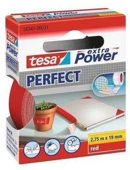 tesa-extra-power-perfect-gewebeband-2-75m-x-19mm-rot