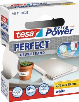 tesa-extra-power-perfect-gewebeband-2-75m-x-19mm-weiss