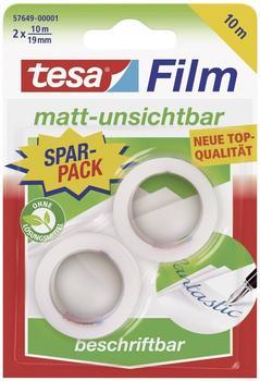 Tesa matt-unsichtbar 10m x 19mm, 2 Stk.