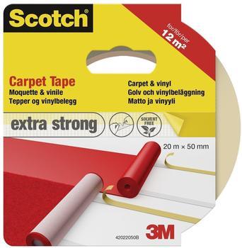 Scotch Teppichklebeband 50mm x 20m weiß (42022050)