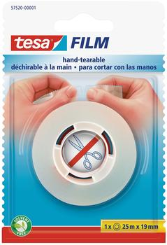 Tesa Crystal Clear 25m x 19mm transparent (57520-00001)