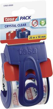 Tesa crystal clear Packbandabroller 50mm x 20m