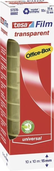Tesa 10m x 15mm transparent (10 Rollen)