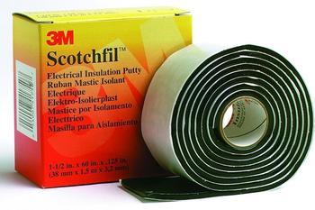 3M Scotchfil Selbstverschweißendes Band schwarz 38mm x 1,5m