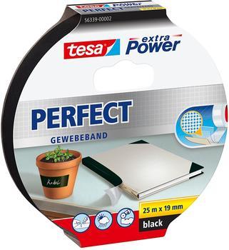 Tesa Extra Power schwarz 25m x 19mm (56339-02-01)