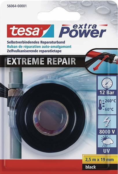 Tesa schwarz 2,5m x 19mm (56064-01-00)