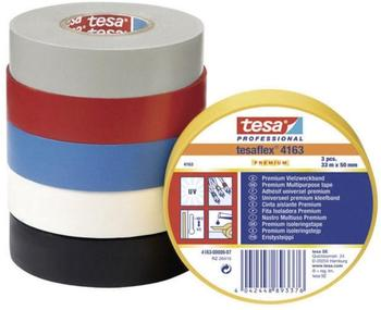 Tesa tesaflex Premium schwarz 33m x 30mm (4163-07-02)
