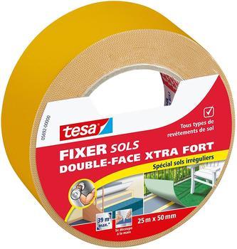 Tesa Double-Face Xtra Teppichklebeband für unregelmäßige Böden 25m x 50mm (05692-00000-00)