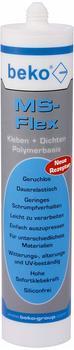Beko MS-Flex Kleb- und Dichtstoff 300ml transparent (2462900)