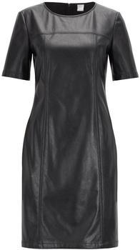 boss-black-arieke-faux-leather-dress-black