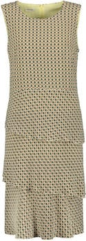 Gerry Weber Gemustertes Kleid mit Stufen braun (1_380047-31435)