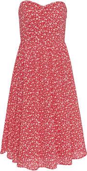 Tommy Hilfiger Floral Bandeau Damen Kleid rot (DW0DW079050K3)