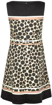 S.Oliver Cotton satin dress with an all-over pattern (01.899.82.6400) black aop