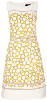 S.Oliver Cotton satin dress with an all-over pattern (01.899.82.6400) cream aop