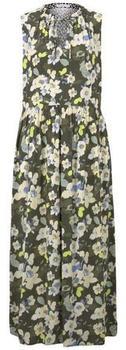 Tom Tailor Kleid khaki floral design (1018186)