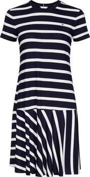 Tommy Hilfiger Striped Relaxed Fit Dress (WW0WW27880) breton stp/white - desert sky