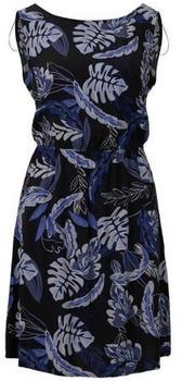 Tom Tailor Denim Kleid black blue tropical print (1018710)