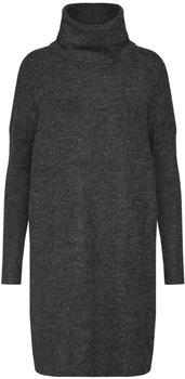 Only Langes Strickkleid (15140166) dark grey melange