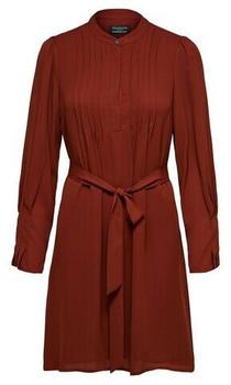 Selected SLFLIVIA LS SHORT DRESS B NOOS (16074006) smoked paprika