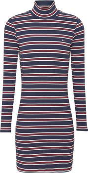 Tommy Hilfiger TJW Rib Stripe Dress (DW0DW08872) blue