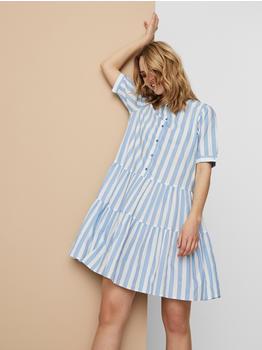 Vero Moda Vmdelta 2/4 Abk Dress Wvn Da Ga Ki Color (10233013) placid blue