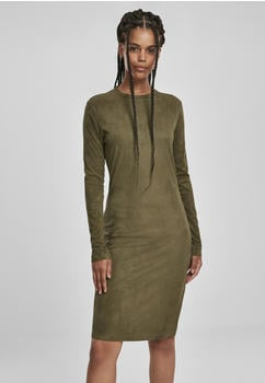 urban-classics-ladies-peached-rib-dress-ls-tb2996-00176-0046-olive