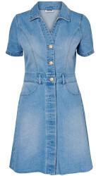Noisy May Nmlisa S/s Bttn Pckt Dnm Dress Jj043lbbg (27011665) light blue denim