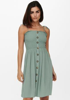 Only Onlannika S/l Smock Dress Wvn Noos (15193884) chinois green