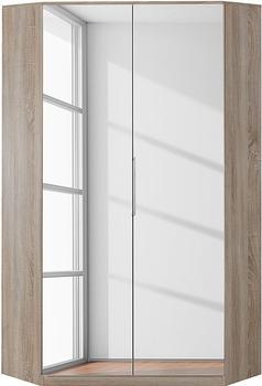 Wimex Genf mit Spiegel 199cm struktureichefarben hell (352192)