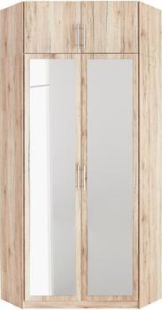 Wimex Riga mit Spiegel struktureichefarben hell (242939)