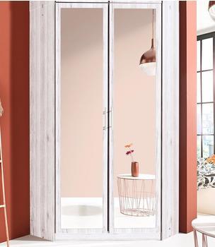Wimex Riga mit Spiegel weißeichefarben (651474)