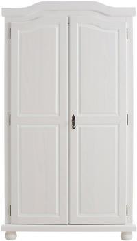 home-affaire-kleiderschrank-2-tuerig-breite-104-cm-weiss