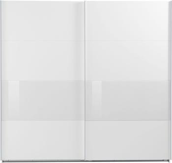 Wimex Bramfeld 225x236cm weiß/Weißglas