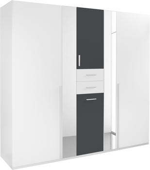 Wimex Vanea 225cm weiß/graphit