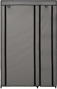 vidaXL Foldable Wardrobe Fabric Dark Grey 110 x 45 x 175 cm