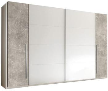 Pol Power Match 2 315x225cm Weiß/Beton (58-712-H1) Weiß/Beton