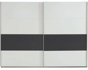 Wimex Bert 270x210x65cm weiß / graphit (459862)