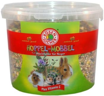 Rosenlöcher Hoppel Mobbel Futter für alle Nager 5L