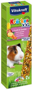 Vitakraft Kräcker Original XXL + Frucht und Gemüse für Meerschweinchen