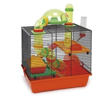 beeztees Hamsterkäfig Rocky, 43x28x38,5cm