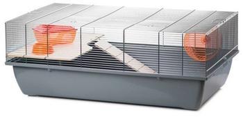 Ollesch Nagerkäfig 78 x 47 x 30 cm grau