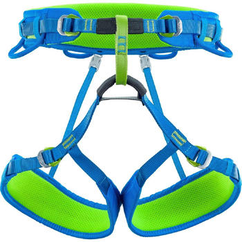 Climbing Technology Wall Seat Harness Green / Blue L-XL