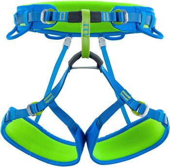 Climbing Technology Wall Seat Harness Green / Blue M-L