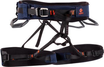 Mammut Comfort Knit Fast Adjust Harness M Marine / Safety Orange
