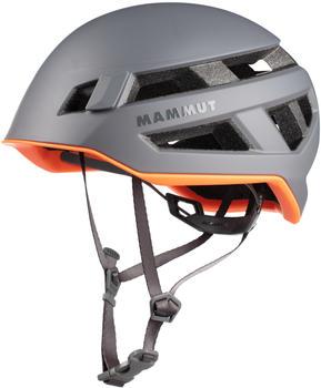 Mammut Crag Sender Helmet (Size 56-61cm, titanium)