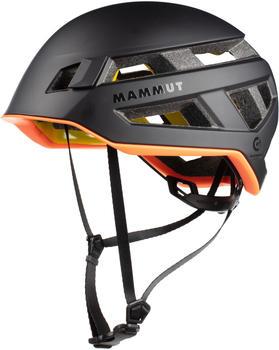 Mammut Crag Sender MIPS Helmet (Size 52-57cm, black)