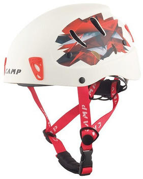 Camp Armour white/red